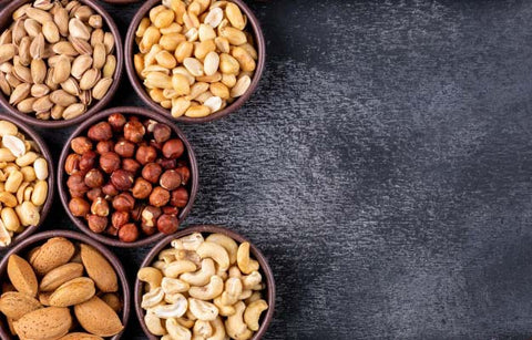Dry fruits, healthy snacking in office