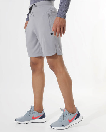 Zymrat grey performance wear shorts