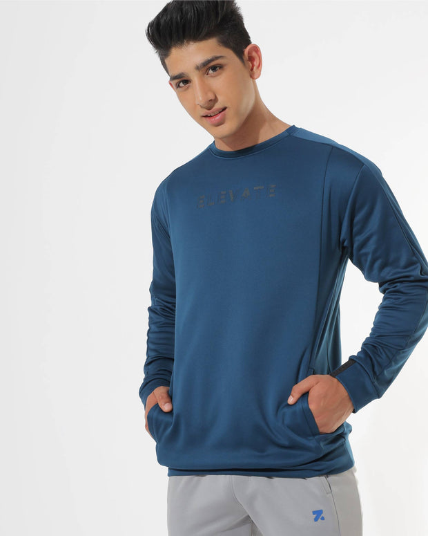 Zymrat moisture-wicking performance wear sweatshirt
