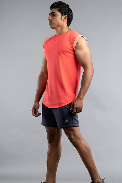 Sleeveless T-Shirt For Gym