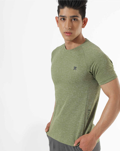 Zymrat green anti odor  short sleeve t shirt