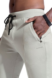 Joggers With Zipper