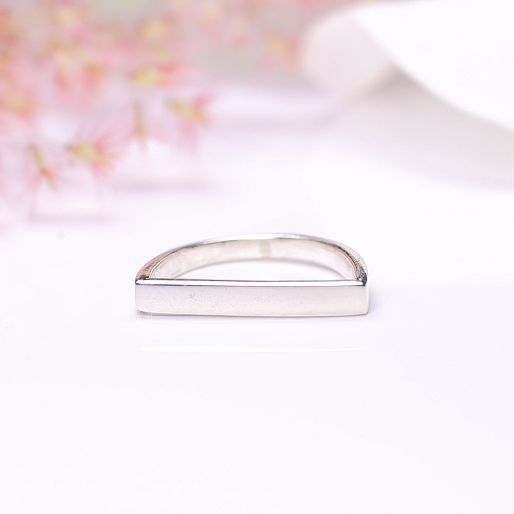 Silver Ring - Simplistic Line