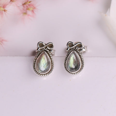 Labradorite Earrings - Simple Serenade