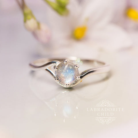 Labradorite Ring - Eternal Bliss