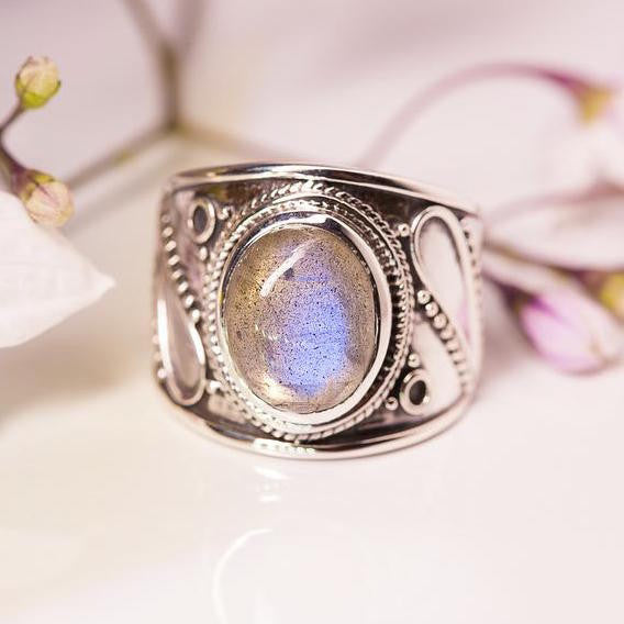 Labradorite Ring - Eternal Spirit