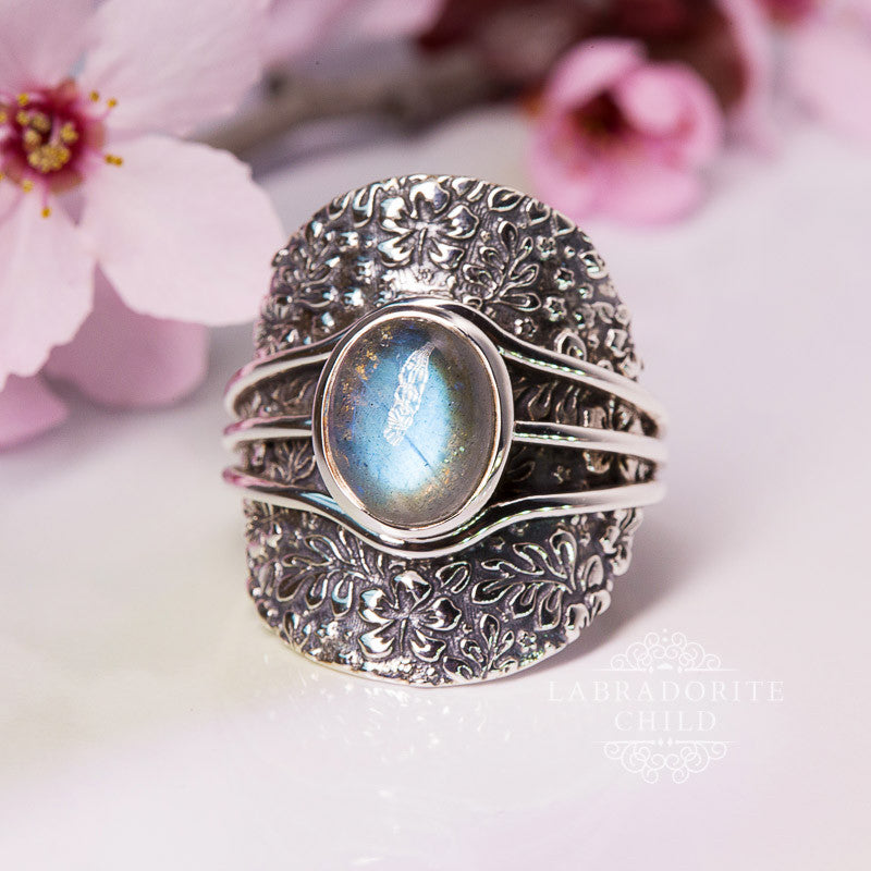 Labradorite Ring - Rising Spirit
