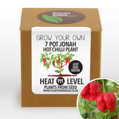 Grow Your Own 7 Pot Jonah Chilli Plant Kit