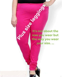 Plus size leggings for healthy ladies for all time wear - EBUNTY