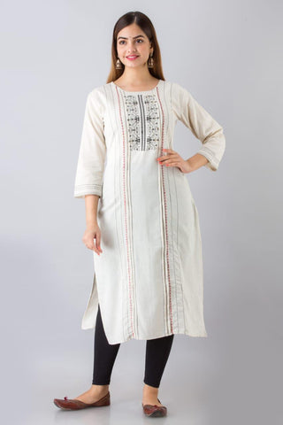 Beautiful linen cotton kurti for all occasions