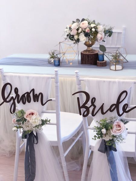 Dusty blue theme solemnization package