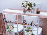 Romantic rose gold theme solemnization package