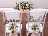 Minimalist rose gold theme solemnization package