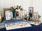 Navy blue & gold theme photo display package