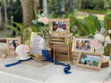 Gold decorative photo frames