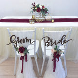 Burgundy & gold theme solemnization package