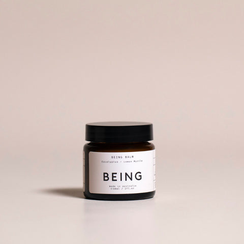 Being Skincare Being Balm Lemon Myrtle Eucalyptus Chasing Mila Made In Australia Women Ladies Natural Beauty