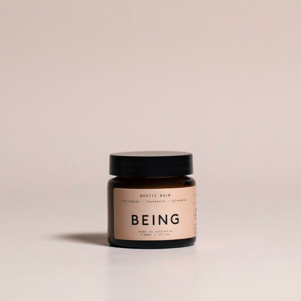 Being Skincare Bootie Balm Chasing Mila Chamomile Calendula Flower Natural Nappy Cream
