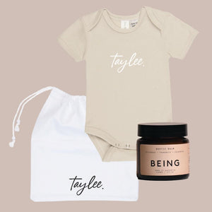 Custom Bodysuit + Bootie Balm | Gift Bag