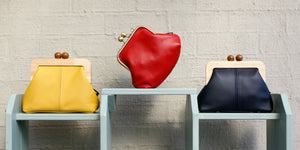 Genuine Leather Clutch Bags Handmade in Australia | PINKOASIS