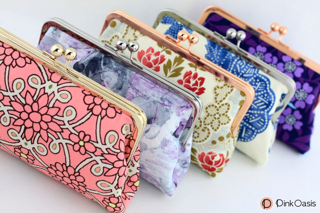 Floral Clutches for Caribbean Themed Wedding Party | PINKOASIS