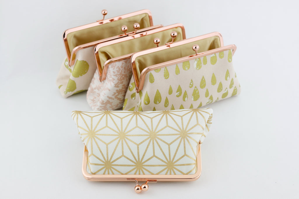 Rose Gold Clutches for Wedding Party Gift