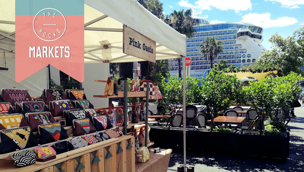 Handmade Women's Handbags at the Rocks Markets | PINKOASIS