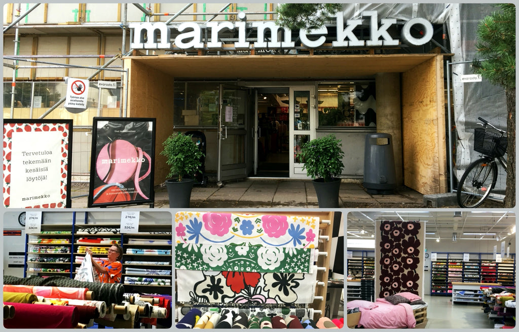 Visiting Marimekko Helsinki Finland for Bag Creation | PINKOASIS