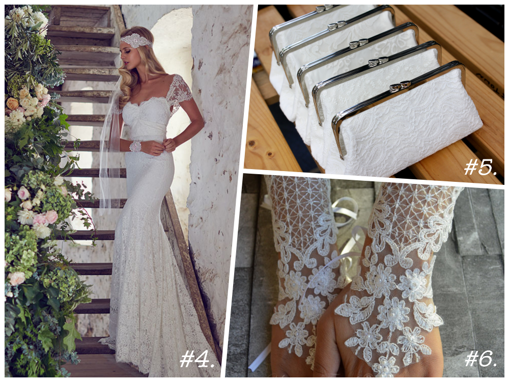 White Lace Wedding planning ideas