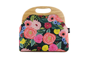 Ladies English Garden Roses Clutch Bag | PINK OASIS