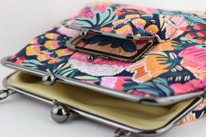 Australian Protea Garden Crossbody Bag Exclusive Design | PINK OASIS