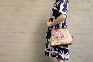 Rustic Flower Crossbody Bag - Limited Edition