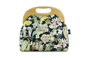 May Gibbs Bush Babies Large Wood Frame Bag | PINKOASIS
