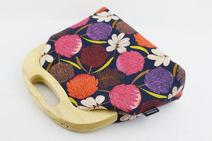 Protea Blossom Native Flower Women's Clutch Bag | PINKOASIS