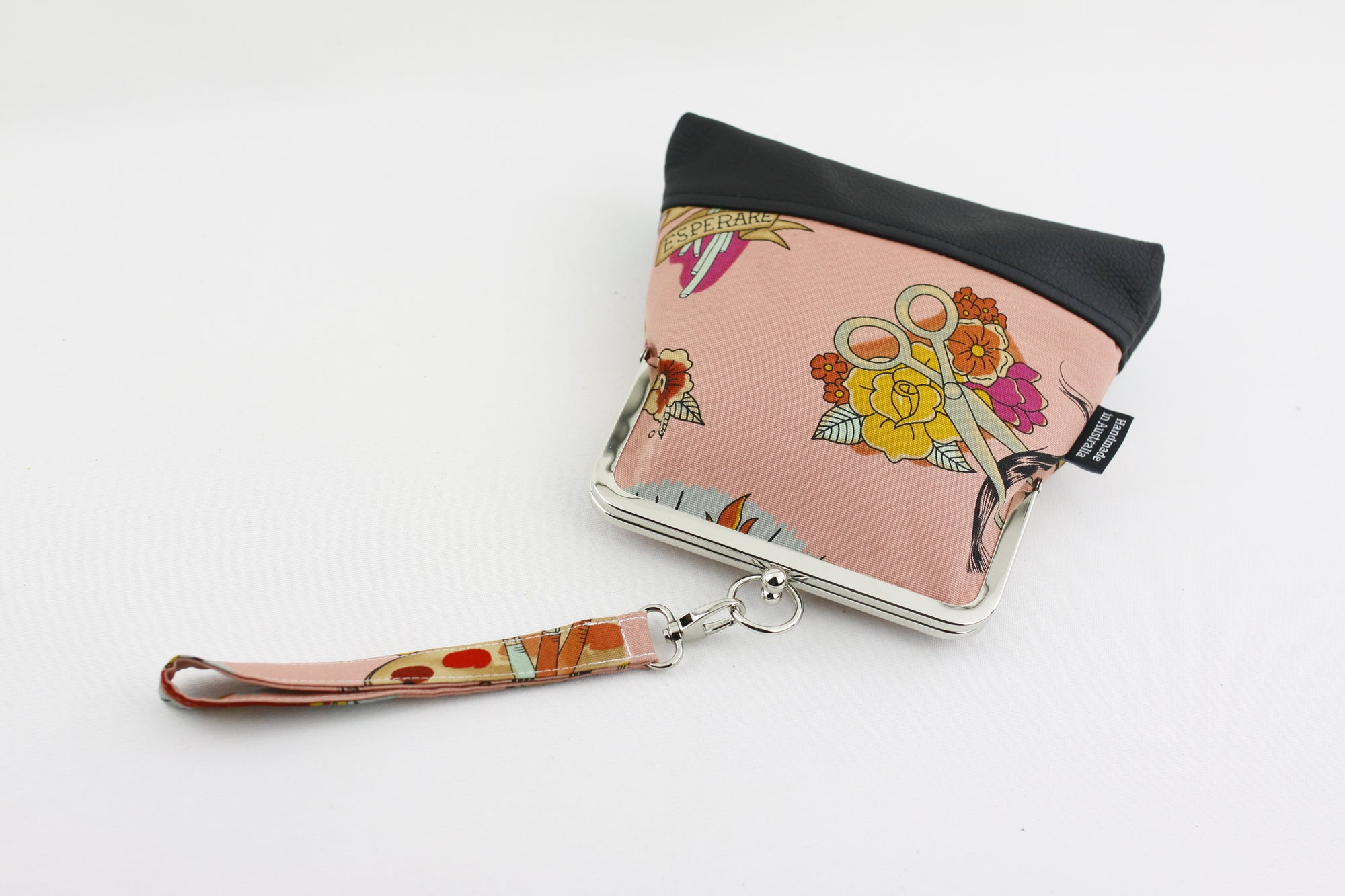 Frida Kahlo Wristlet with Chain | PINKOASIS