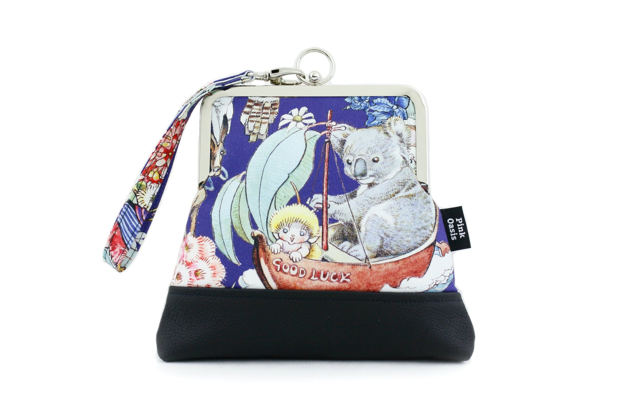 May Gibbs Gumnut Babies & Friends Wristlet | PINKOASIS