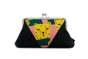 Chita Kisslock Clutch & Crossbody Bag | PINKOASIS