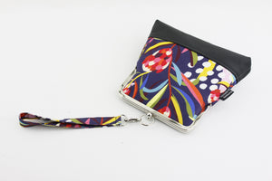 Australian Native Flower Protea Wristlet Bag | PINKOASIS