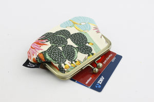 Succulents Coin Purse Handmade in Australia | PINKOASIS