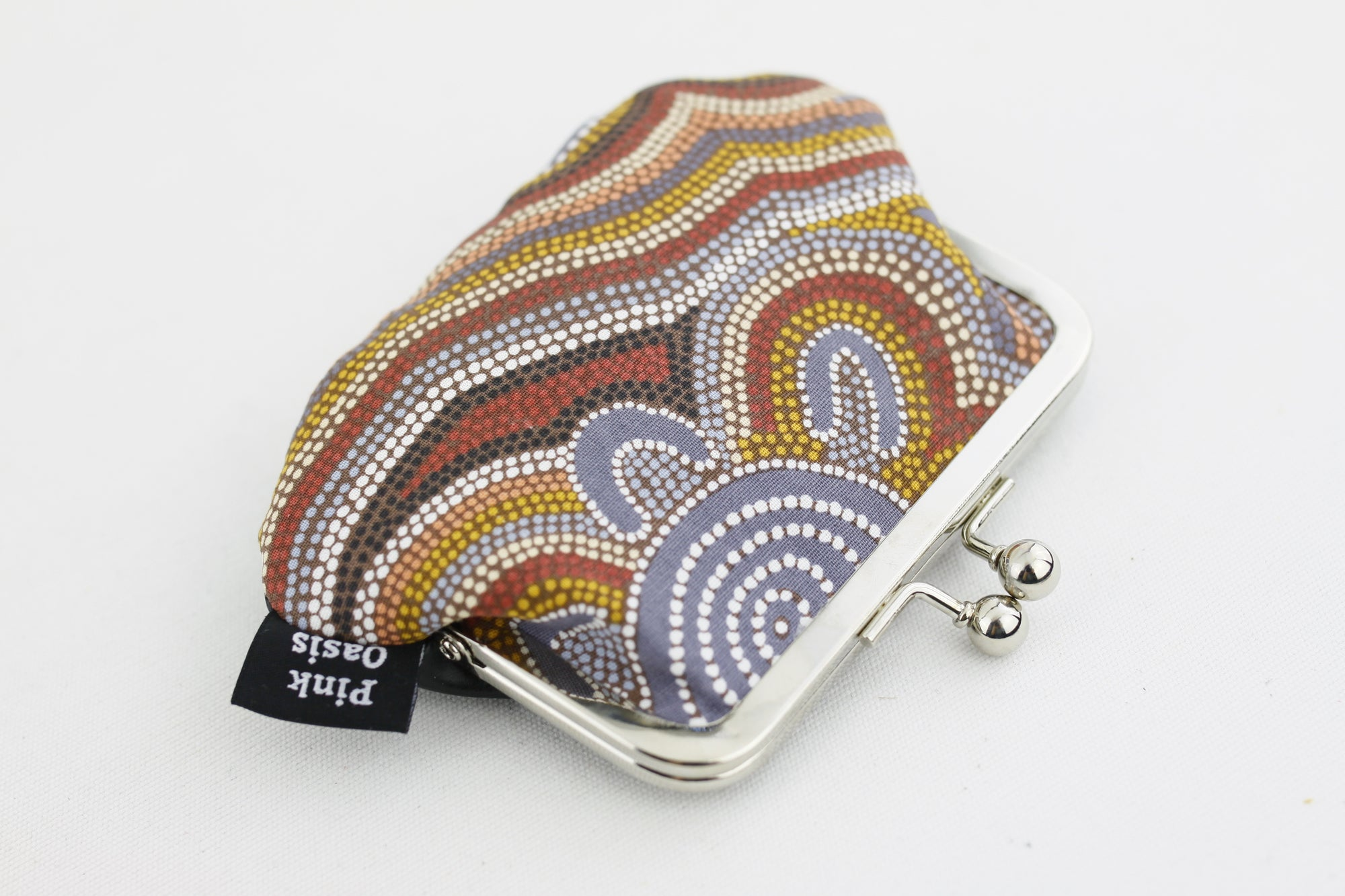 Aboriginal Art Coin Purse Handmade in Australia | PINKOASIS