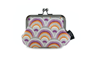 Wave Pattern Coin Purse Handmade in Australia | PINKOASIS