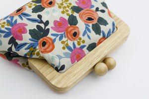 English Roses Rustic Clutch Ladies Bag | PINKOASIS