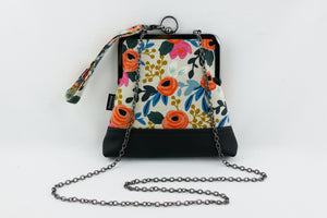 English Roses Floral Wristlet Bag | PINKOASIS