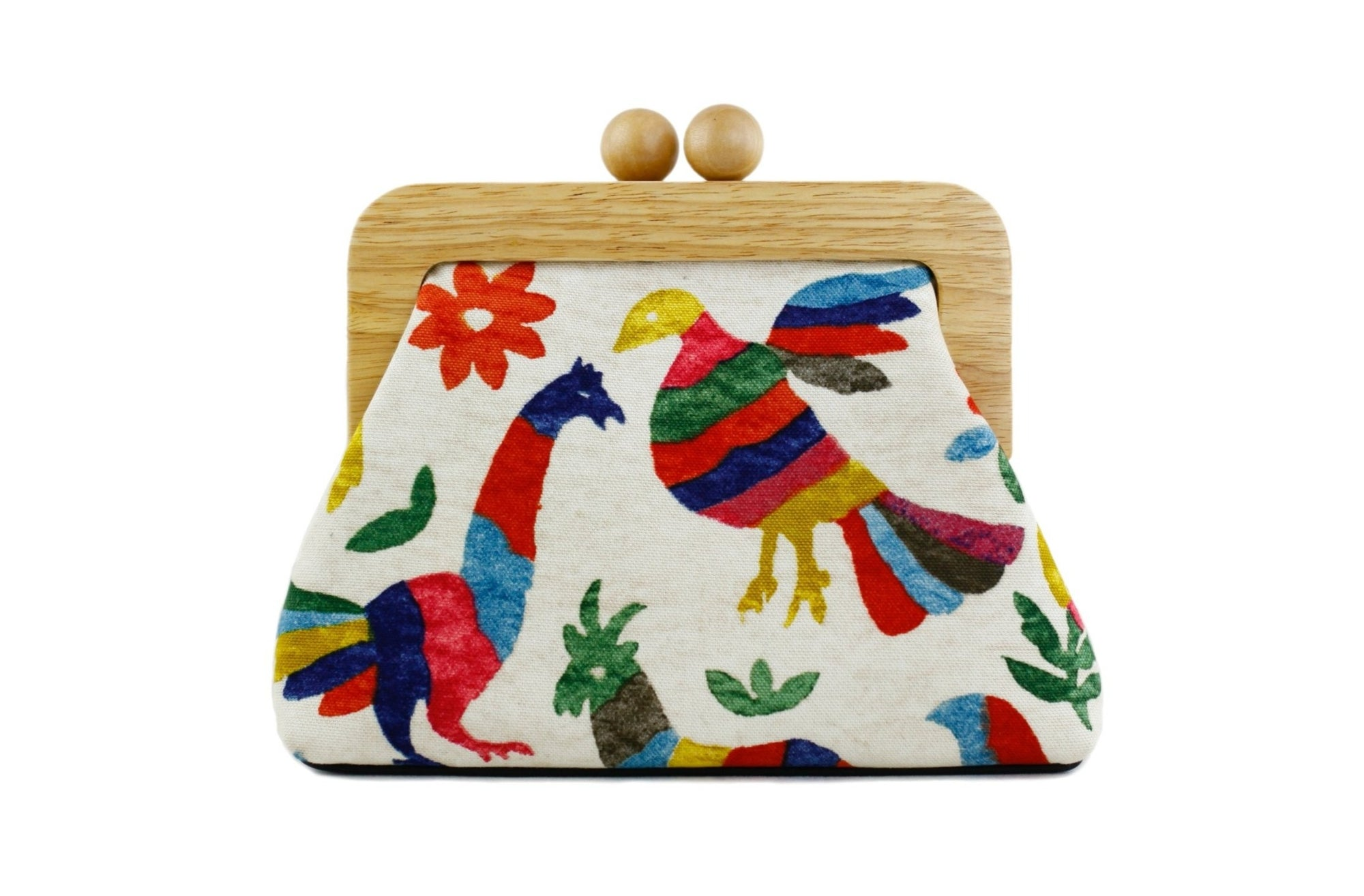 Jungle Animals Clutch Bag with Leather Strap | PINKOASIS