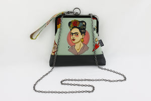 Frida Boho Wristlet Bag with Chain Strap | PINKOASIS