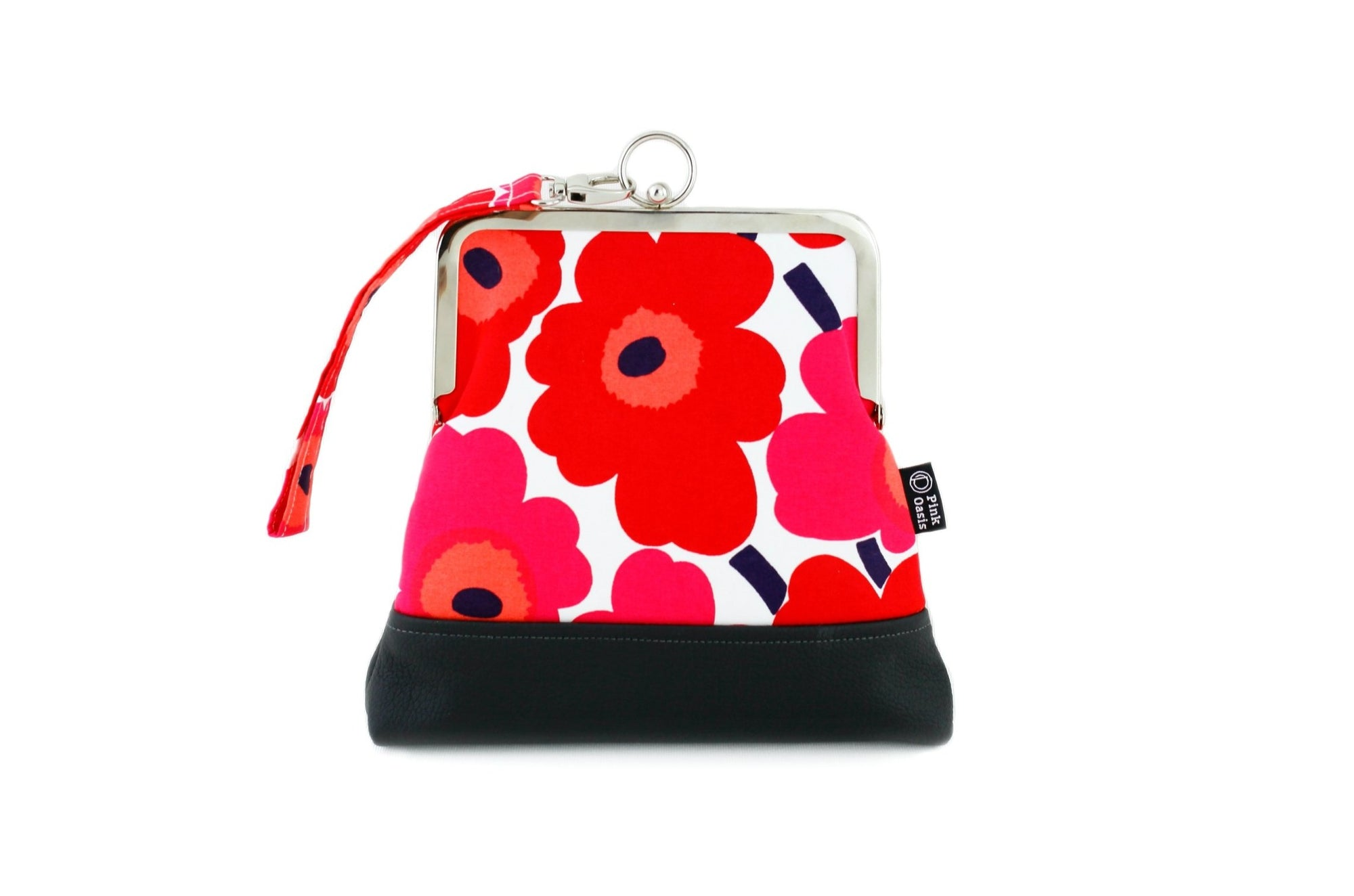 Poppy Red Wristlet  | PINKOASIS