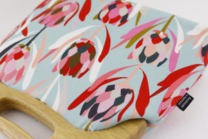 Australian Native Protea Oversized Clutch Bag  | PINKOASIS