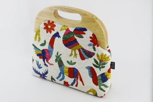Colorful Animals Oversized Clutch Bag  | PINKOASIS