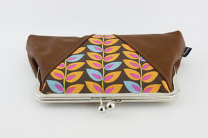 The Autumn Leaves Kisslock Clutch  | PINKOASIS