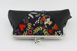 Alice in Wonderland Kisslock Clutch  | PINKOASIS